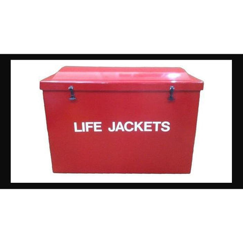 """Tough Guy"" Life Jacket Box"