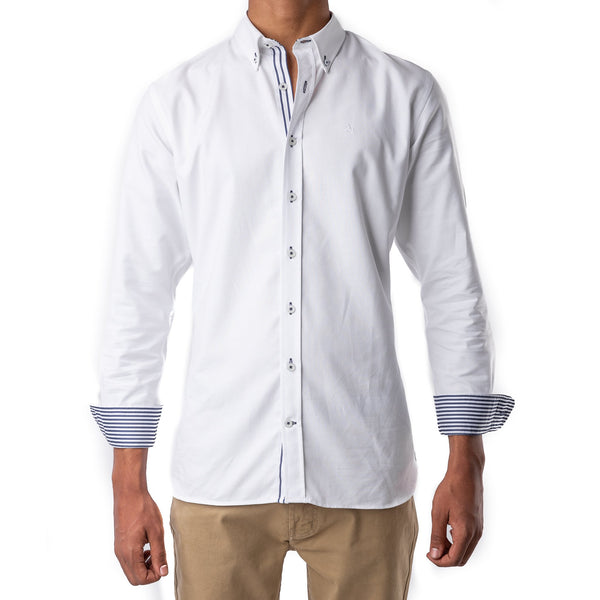 Cotton Shirt White Oxford
