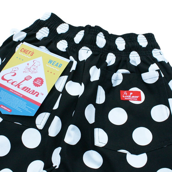 Cookman Chef Short Pants - Big Dots