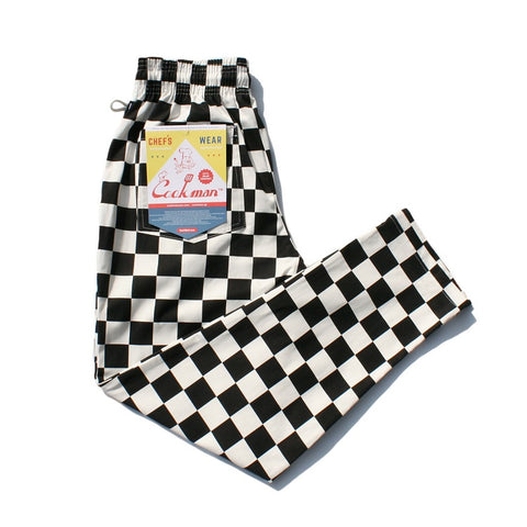 Cookman Chef Pants - Checker Black