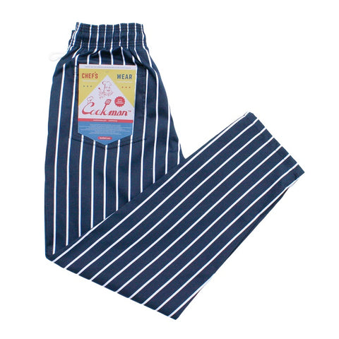 Cookman Chef Pants - Stripe : NAVY