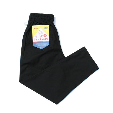 Cookman Chef Pants - Ripstop : Black