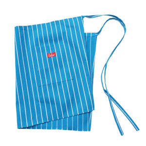 Cookman Waist Apron - Pinstripe Light Blue