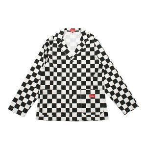 Cookman Lab Jacket - Checker : Black