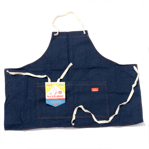 Cookman Mini Apron - Denim