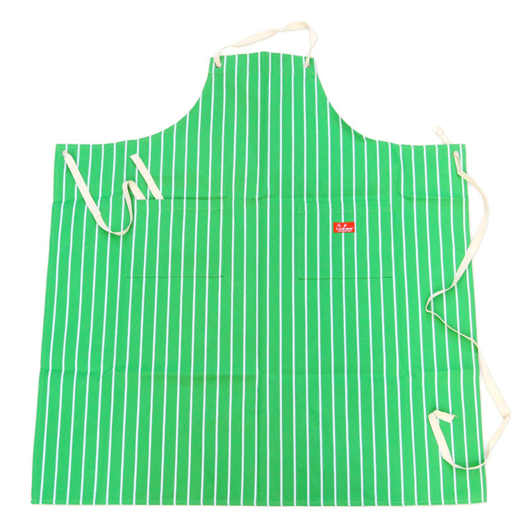 Cookman Long Apron - Stripe : Green
