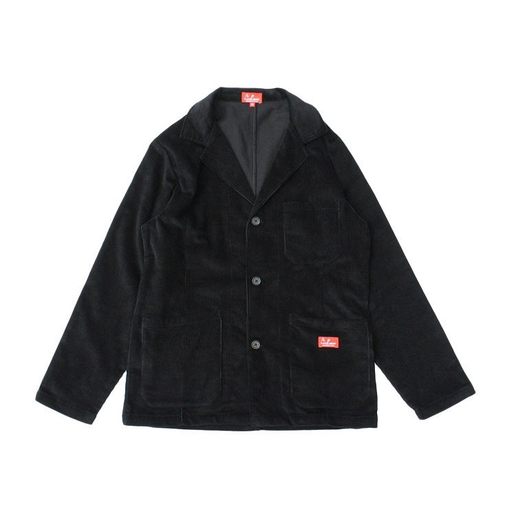 Cookman Lab Jacket - Corduroy : Black