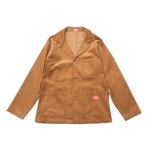 Cookman Lab Jacket - Corduroy : Brown