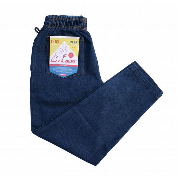 Cookman Chef Pants - Denim : Navy