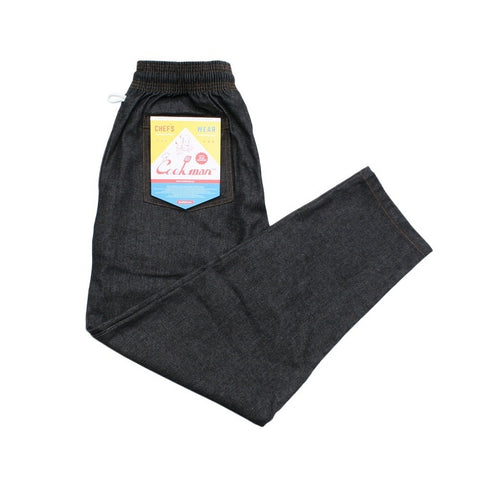 Cookman Chef Pants - Denim : Black
