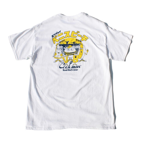 Cookman T-shirts - TM-003-VeniceBeach - White