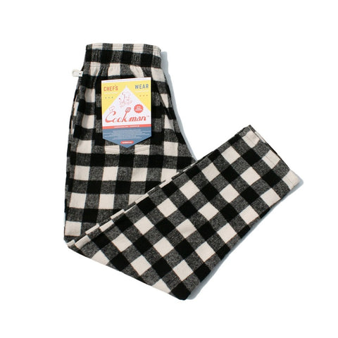 Chef Pants - Nel Buffalo Check White