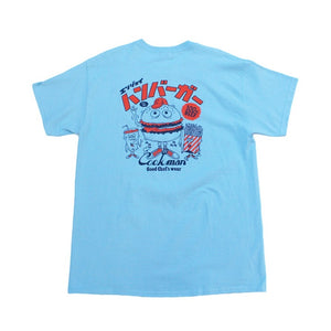 Cookman T-shirts - TM-004-Burger - Sky