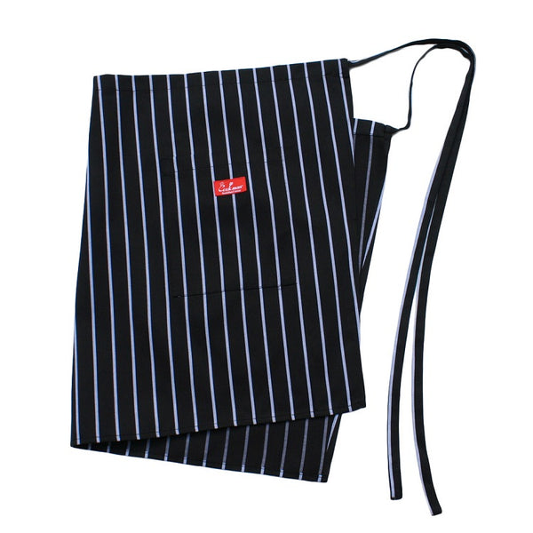 Cookman Waist Apron - Stripe : Black