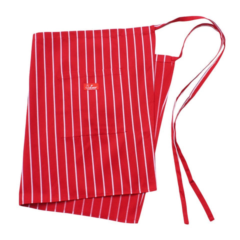 Cookman Waist Apron - Stripe : Red