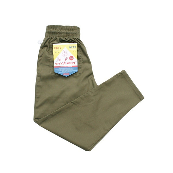 Cookman Chef Pants - Ripstop : Khaki