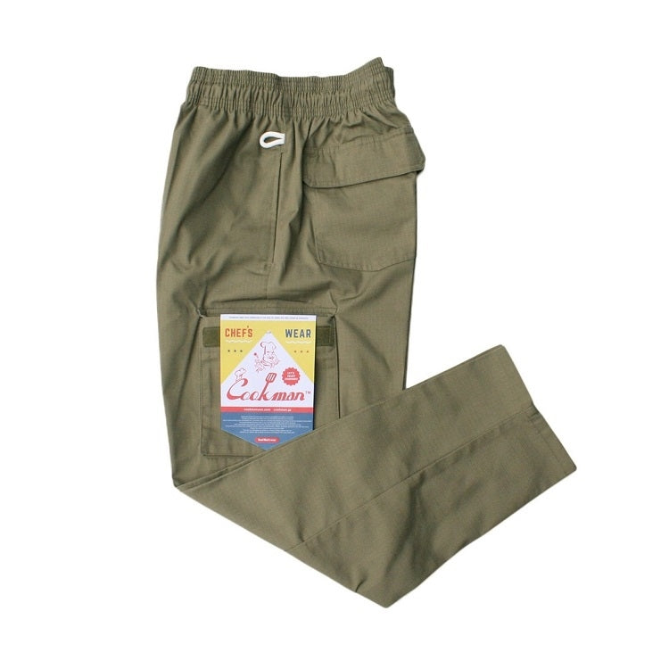Cookman Chef Cargo Pants - RipStop Khaki