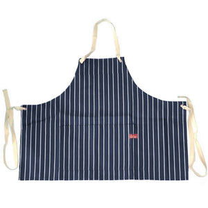 Cookman Mini Apron - Pinstripe Navy