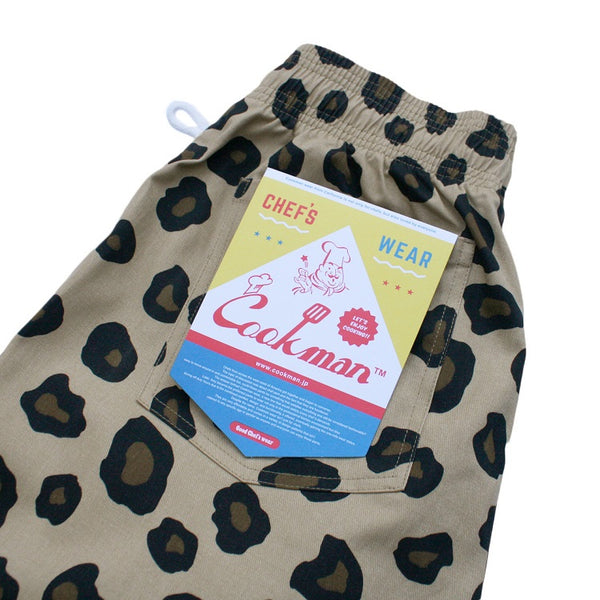 Cookman Chef Pants - Big Leopard
