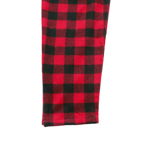 Cookman Chef Pants - Nel Buffalo Check Red