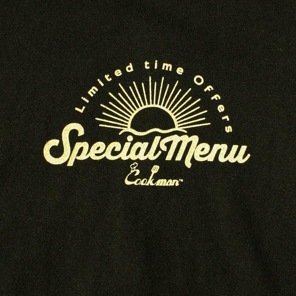 Cookman T-shirts - Special Menu