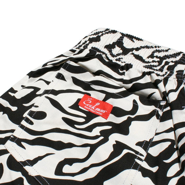 Cookman Chef Short Pants - Zebra