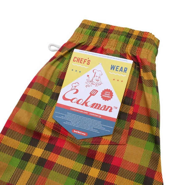 Chef Pants - Burger Plaid