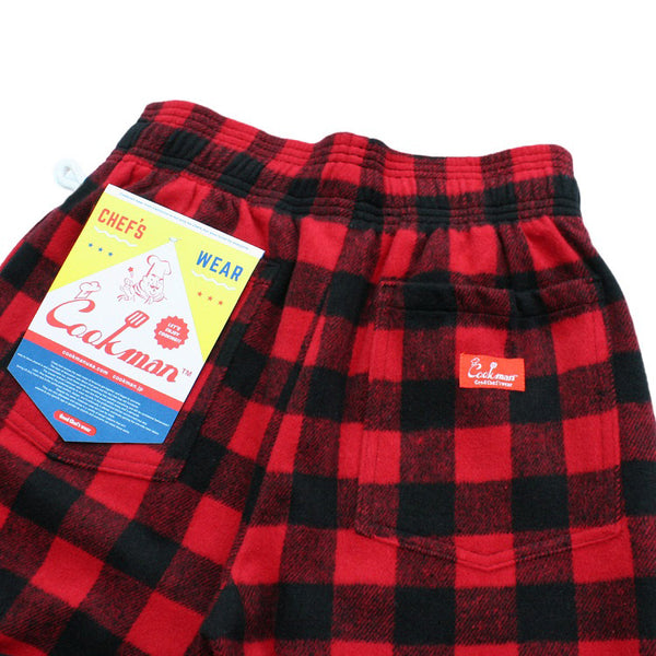Chef Pants - Nel Buffalo Check Red