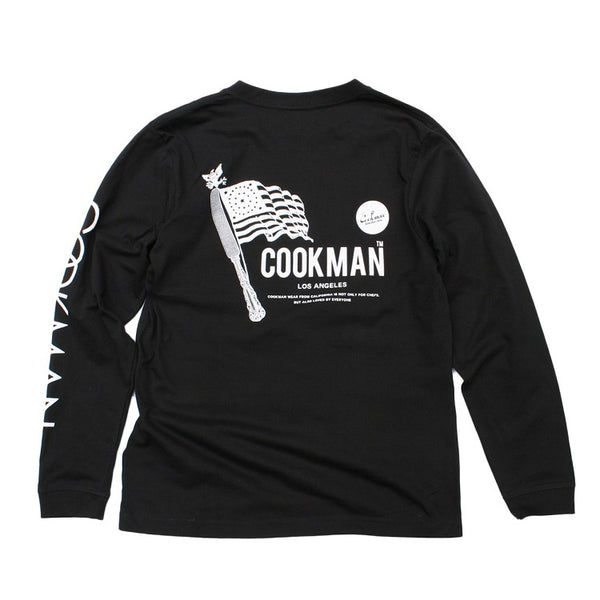 Cookman Long Sleeve T-shirts - Flag