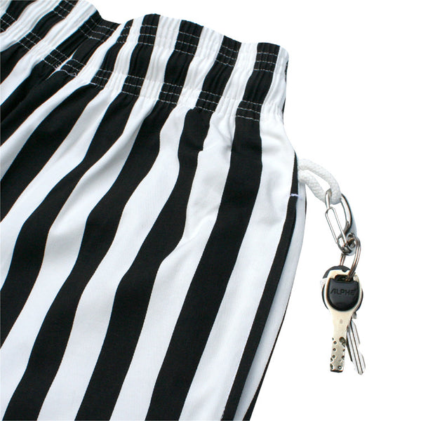 Cookman Chef Pants - Wide Stripe Black