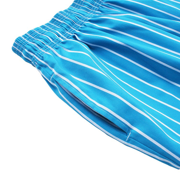 Cookman Chef Pants - Pinstripe Light Blue