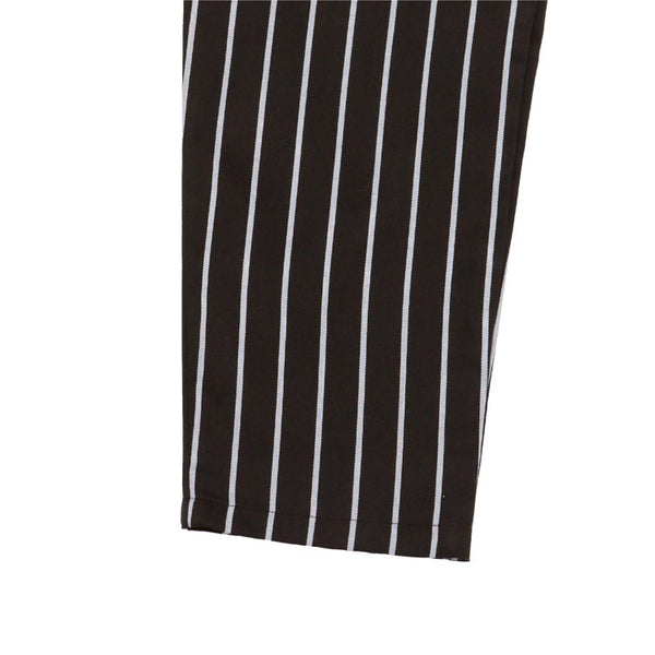 Cookman Waiter Pants - Pinstripe Black