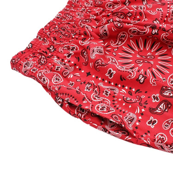 Chef Pants - Paisley Red