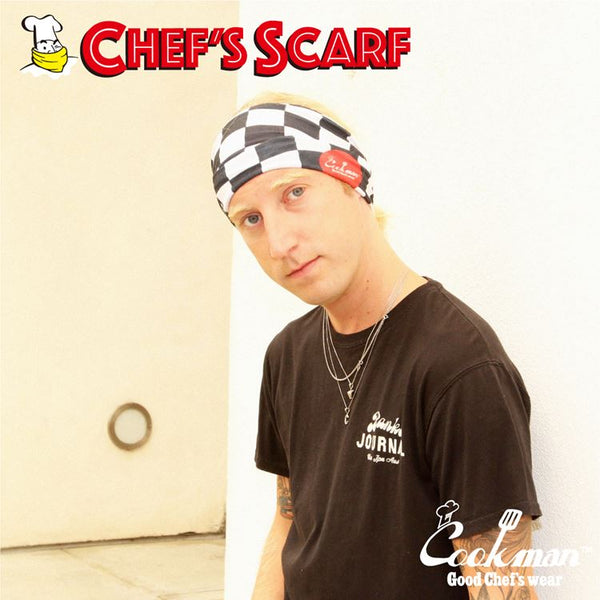 Chef's Scarf - Checker