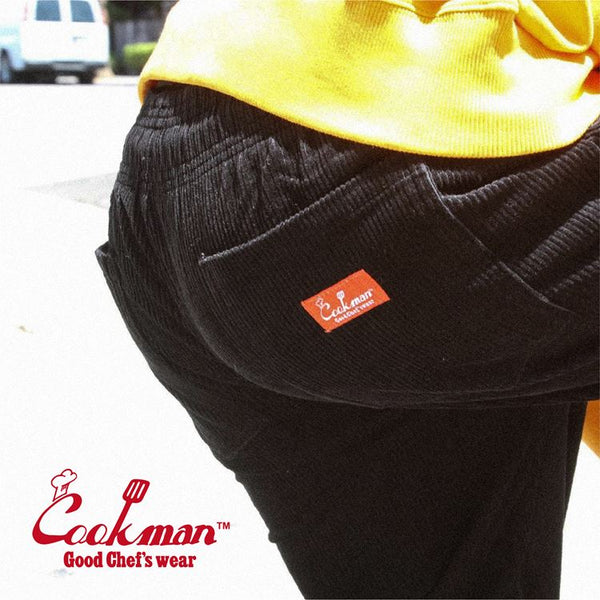 Cookman Chef Pants - Corduroy : Black