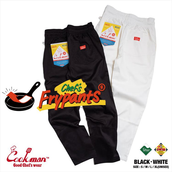 Chef's Frypants - White