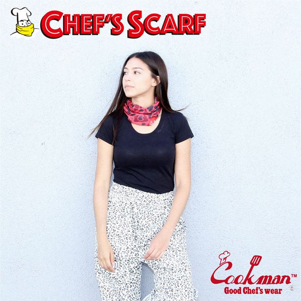 Chef's Scarf - Camo Red (Duck Hunter)