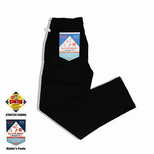 Cookman Waiter's Pants (stretch) - Black