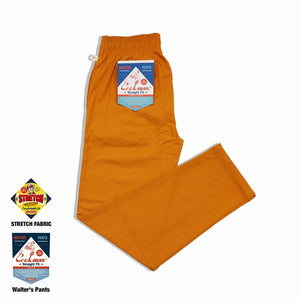 Cookman Waiter's Pants (stretch) - Mustard
