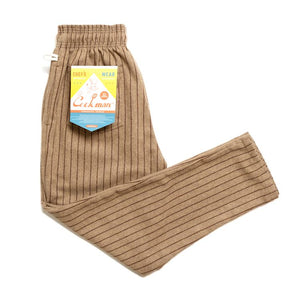 Cookman Chef Pants - Wool Mix Stripe : Beige