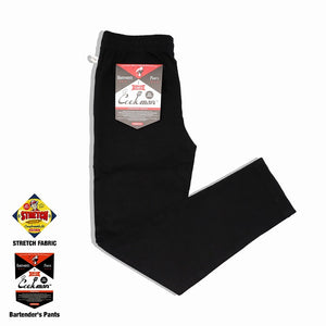 Cookman Bartender's Pants - Black