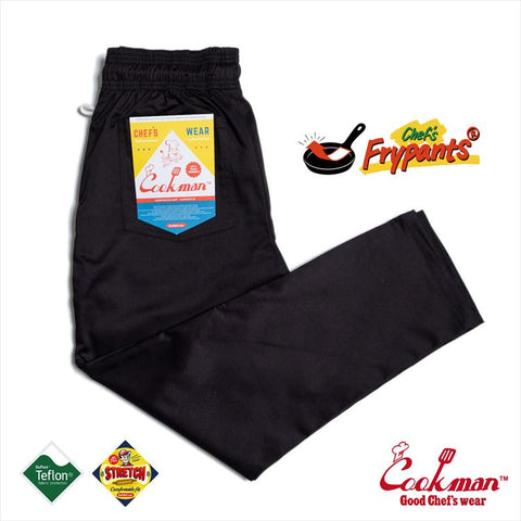 Chef's Frypants - Black