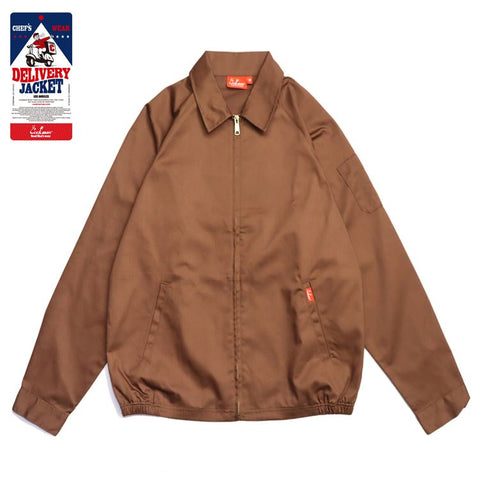 Cookman Delivery Jacket - Chocolate