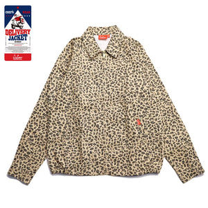 Cookman Delivery Jacket - Leopard