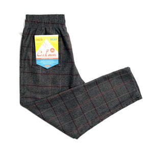 Cookman Chef Pants - Wool Mix Plaid : Gray