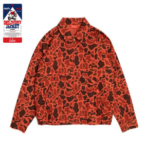 Cookman Delivery Jacket - Ripstop : Camo Red (Duck Hunter)