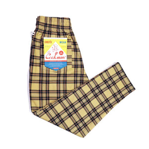 Cookman Chef Pants - Tartan Beige