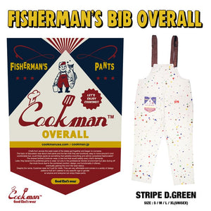 Fisherman's Bib Overall - Sauce Splash