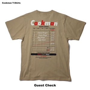 Cookman T-shirts - Guest Check - Beige