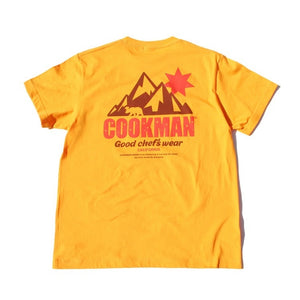 Cookman T-shirts - California Bear - Yellow